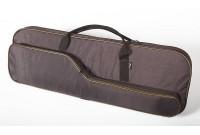 Чехол VEKTOR из капрона с поролоном и тканевой подкладкой для двуствольного ружья