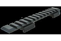 Кронштейн CZ-527 Picatinny, 12 слотов, длина 137мм., материал - металл, цвет - черный, вес 56гр.